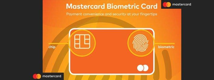 Mastercard جدید با اثر انگشت کار میکند