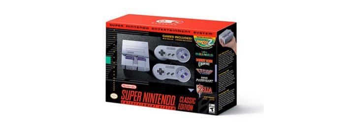 ارائه کنسول نوستالژی Nintendo SNES Classic
