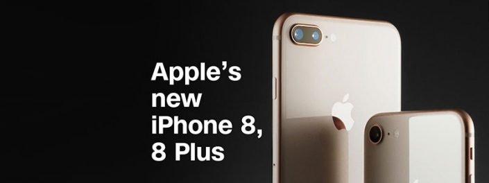 اپل، آیفون 8 و آیفون8پلاس را رسما معرفی کرد