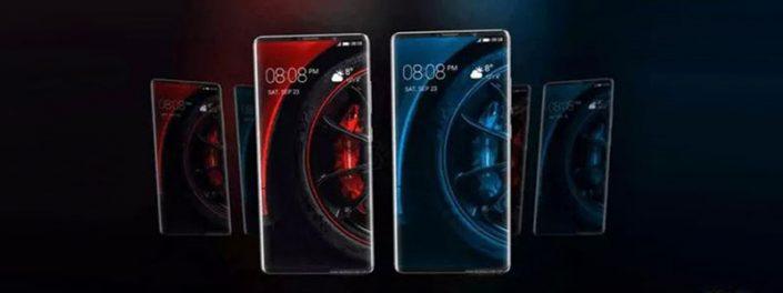 رندر جدید از گوشی میت 10پرو با طراحی بدون حاشیه و دوربین دوگانه منتشر شد.