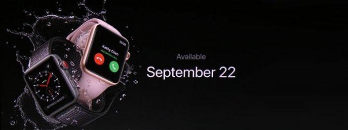 نسل جدید ساعت هوشمنداپل رونمایی شد.