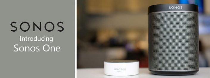 اسپیکر بی سیم Sonos One معرفی شد.