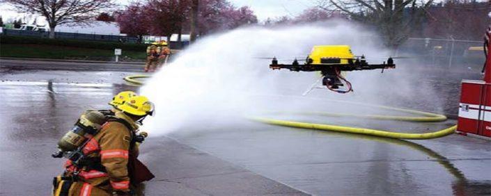 پهپادهای آتشنشان